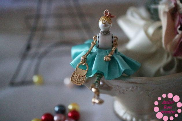 ギャザースカートの女の子 オリジナルドール